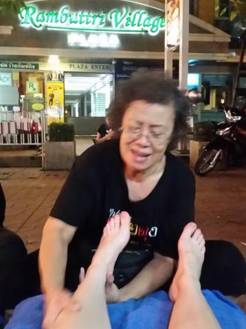 Masaje tailandes en Bangkok