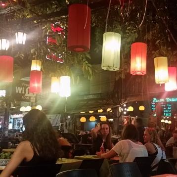 Restaurante en Khaosan Road